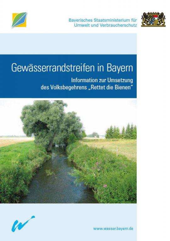 Gewässerrandstreifen - Infobroschüre