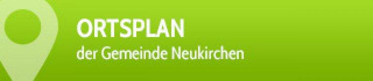 Button - Wanderkarte / Ortsplan der Gemeinde Neukirchen