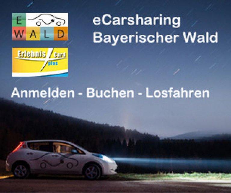 eCarsharing Bayerischer Wald - Anmelden - Buchen - Losfahren