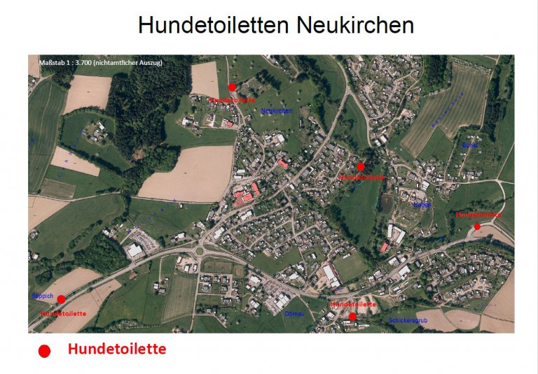 Hundetoiletten Neukirchen 2021